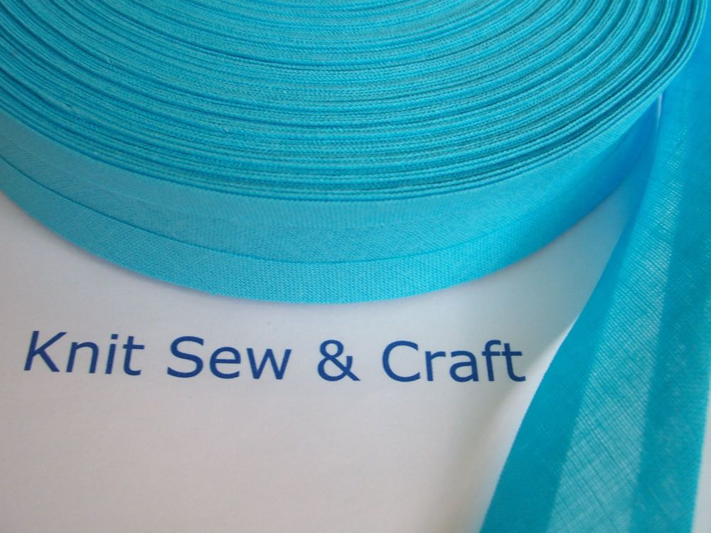 Turquoise Sewing Tape - Peacock Blue