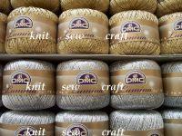 DMC metallic crochet yarn