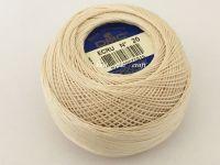 DMC Cordonnet Cotton No. 20 Crochet Yarn Lacemaking Thread ECRU 20g