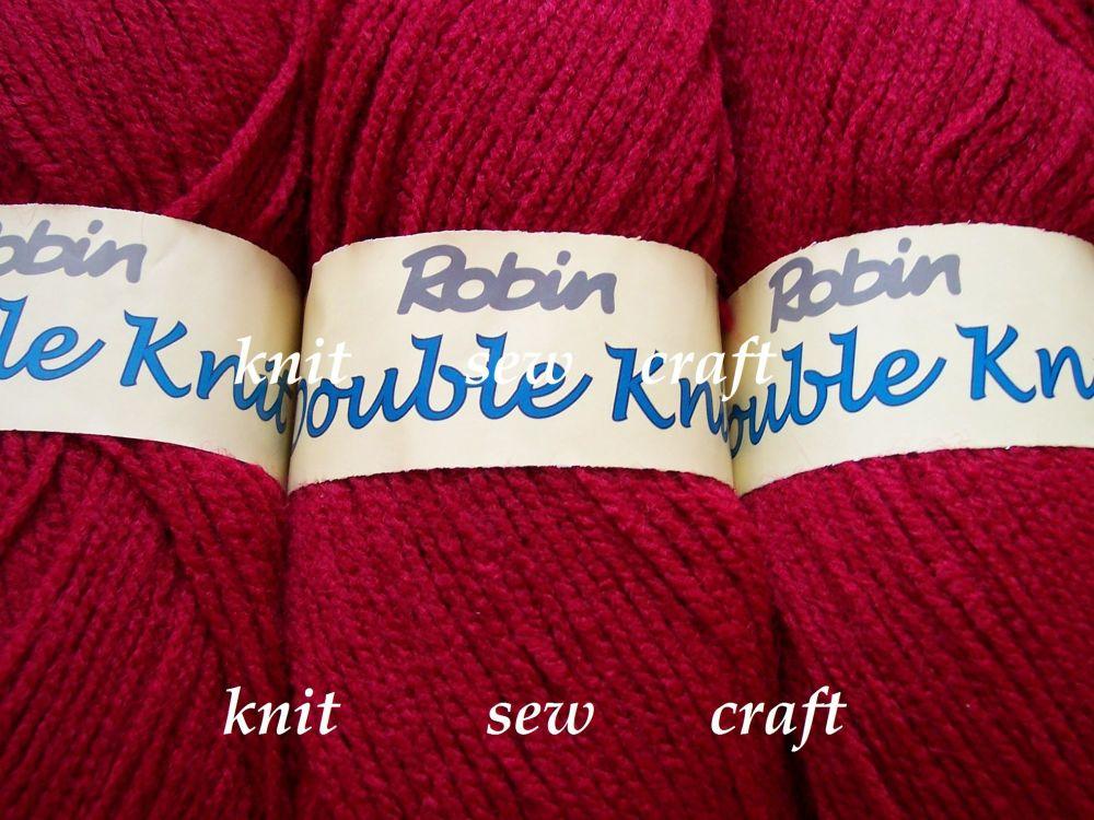 Robin DK – Claret Double Knitting Yarn