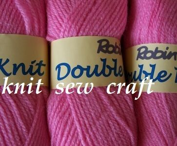 Robin DK – Fondant Pink Double Knitting Yarn