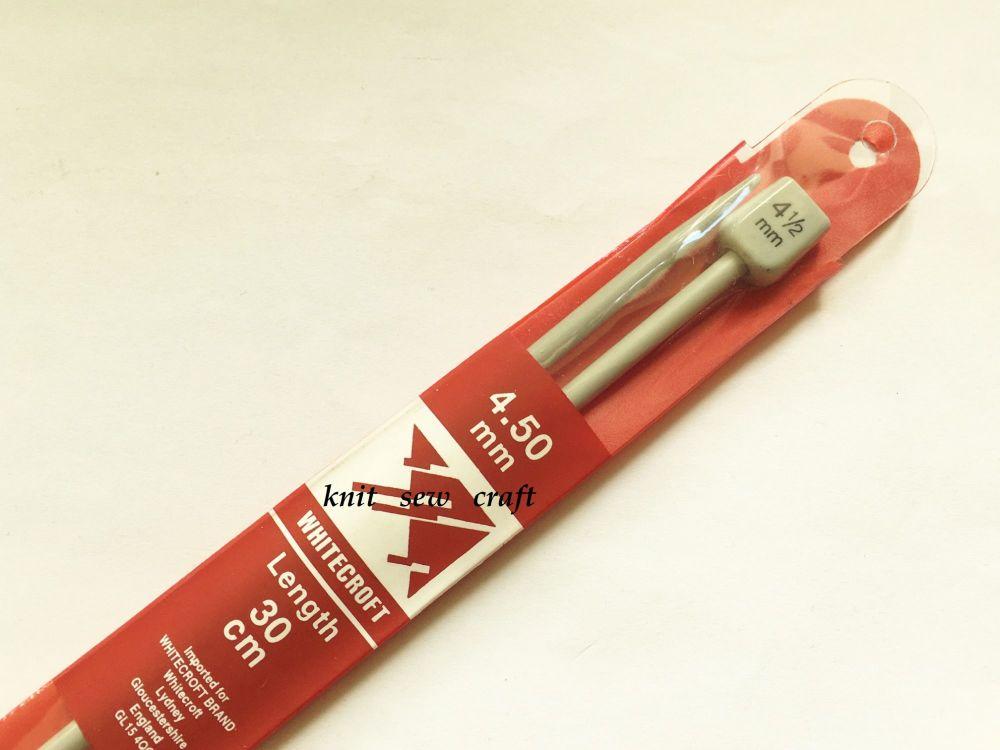 Knitting Needles Whitecroft 4.5mm Length 30cm