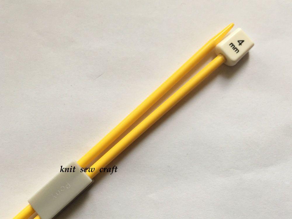 Pony Childrens Knitting Needles Size: 4mm