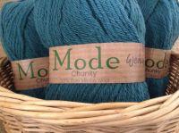 Wendy Mode Chunky Merino Knitting Wool 212 Teal Green 100g Ball
