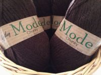 Wendy Mode Chunky Merino Wool Coffee Bean 218