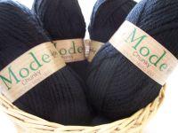 Wendy Mode Chunky Merino Knitting Wool 220 Coal 100g