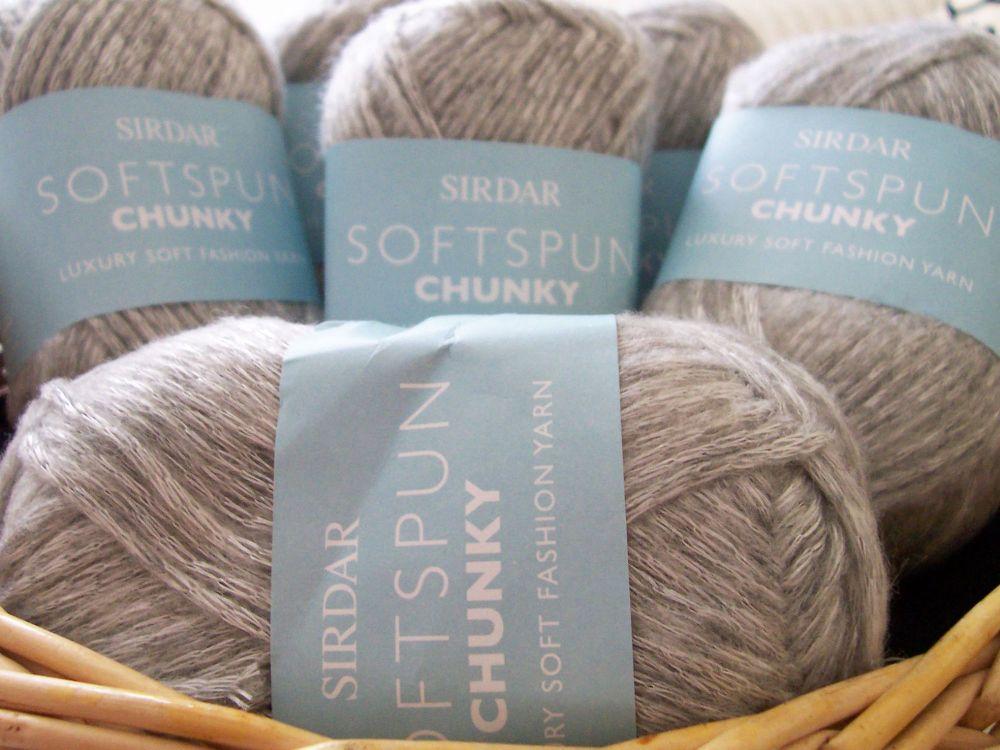 Sirdar Softspun Chunky Wool F044 Frostie 562