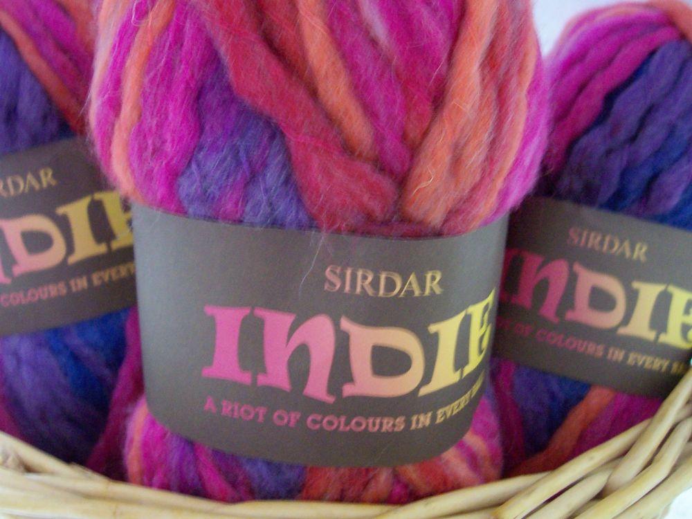 Sirdar Super Chunky Knitting Yarn - Indie Phoenix 0159