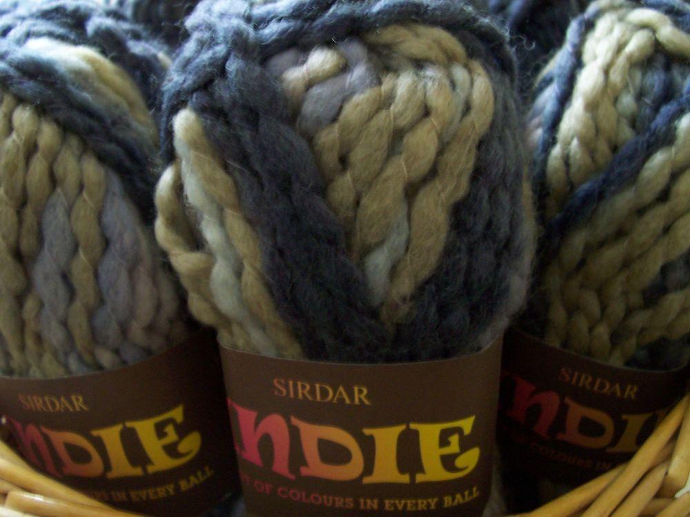 Sirdar Super Chunky Knitting Wool - Indie Flint Creek 169