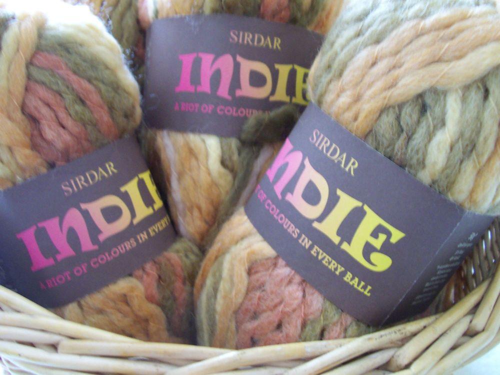 Sirdar Indie Gaucho 171 Super Chunky Knitting Wool 50g ball F062