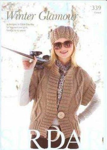Sirdar Click Chunky Wool Knitting Patterns Book 339