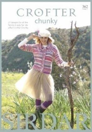 Sirdar Crofter Chunky Knitting Patterns Book 362 21 Designs
