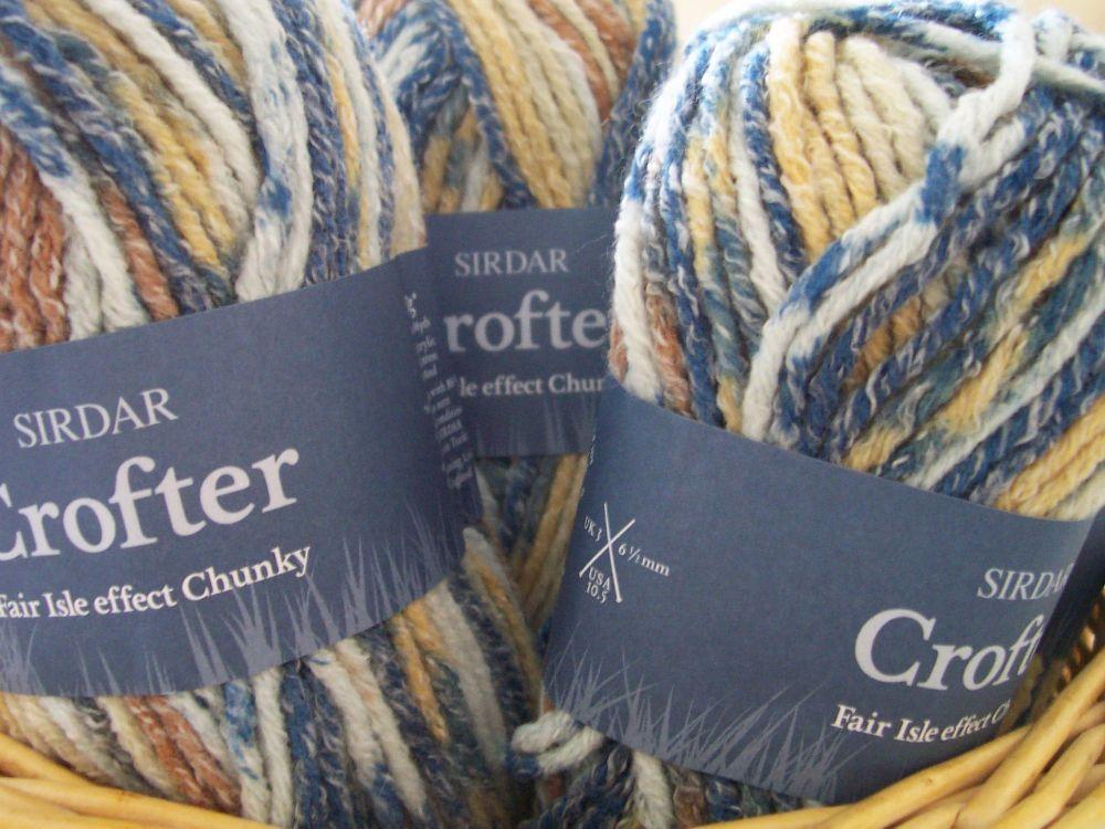 Sirdar Crofter Chunky Knitting Wool - Hebrides 044