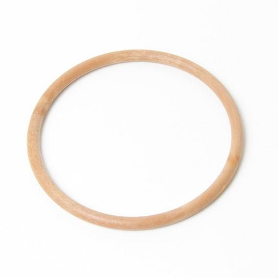 wood effect round bag handles one pair BH3W 13cm