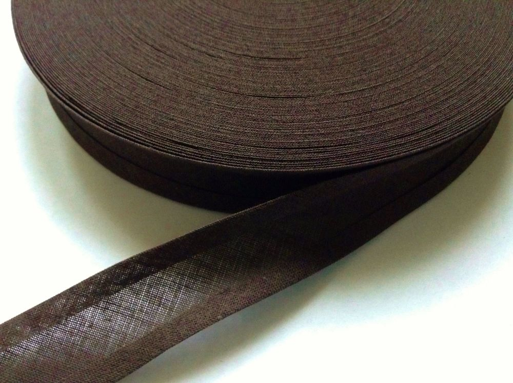 Dark Brown Bias Binding Tape