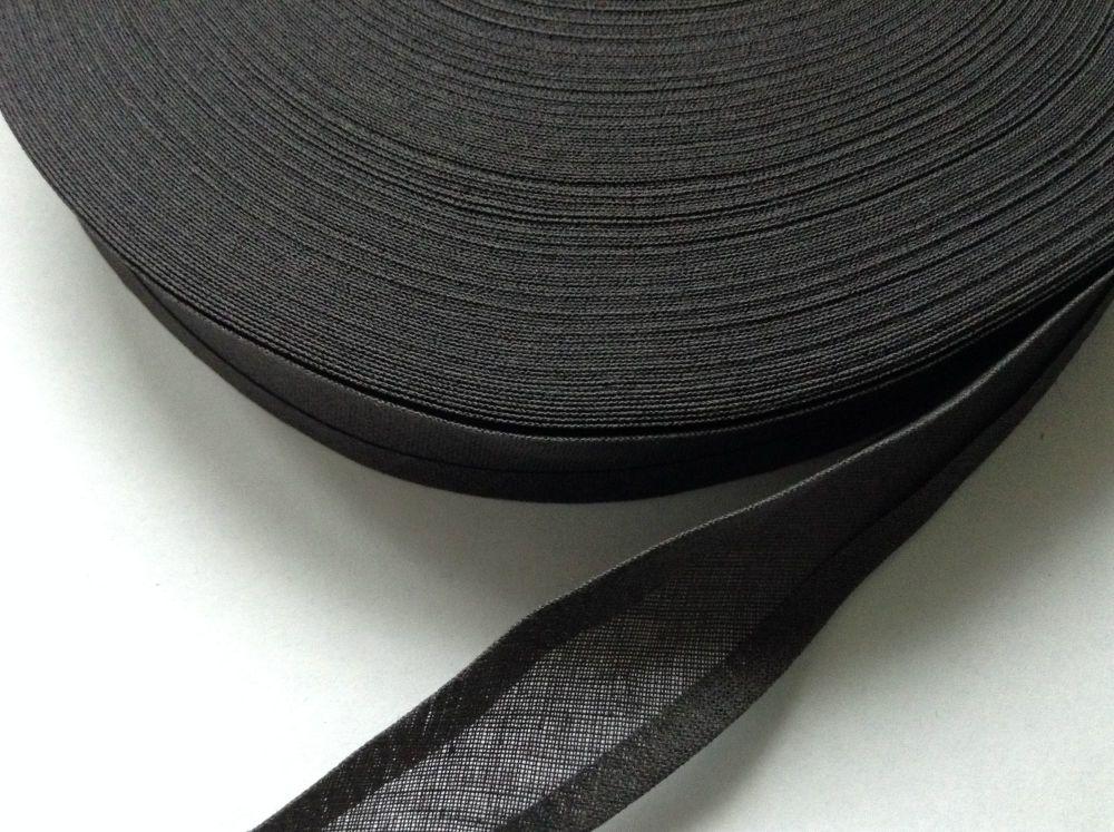 Dark Grey Cotton Bias Tape