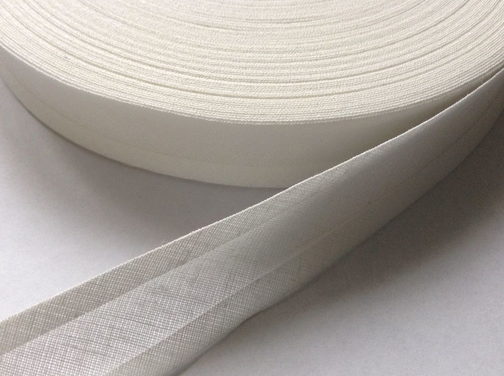 50 metres of 25mm wide sewing tape - pale ivory colour