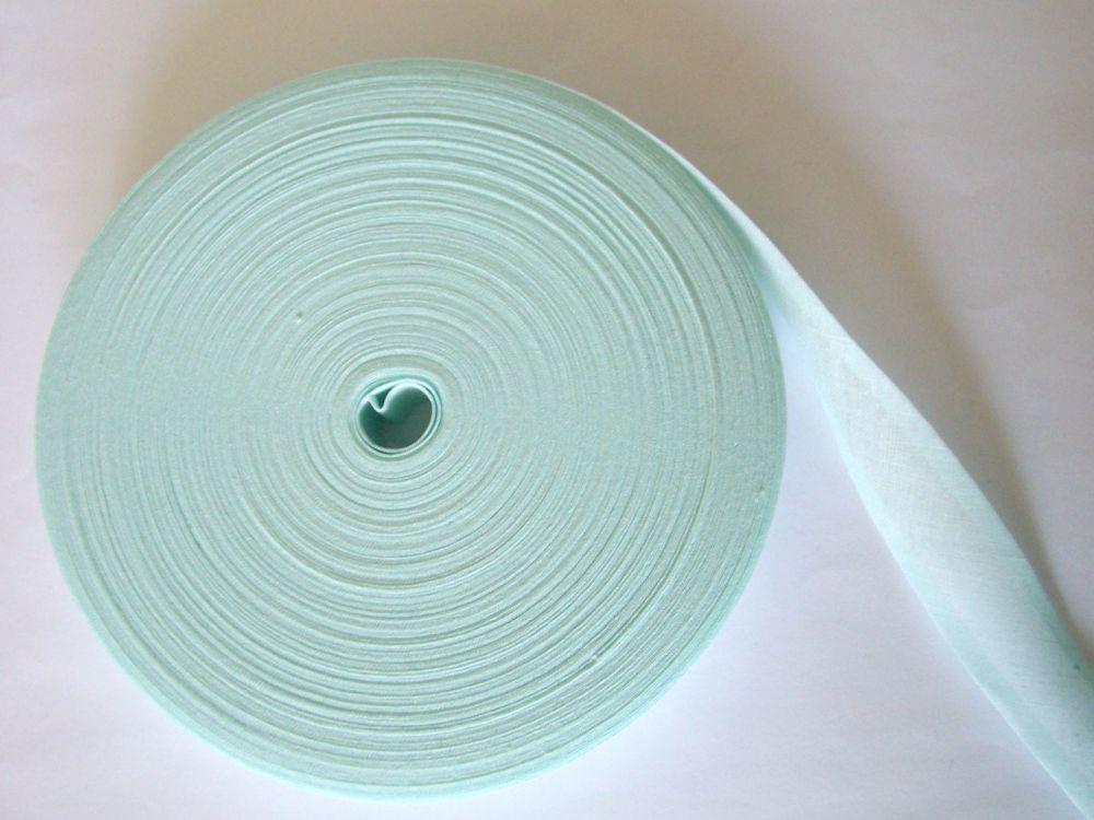 Baby Blue Bias Binding - 50 Metre Reel