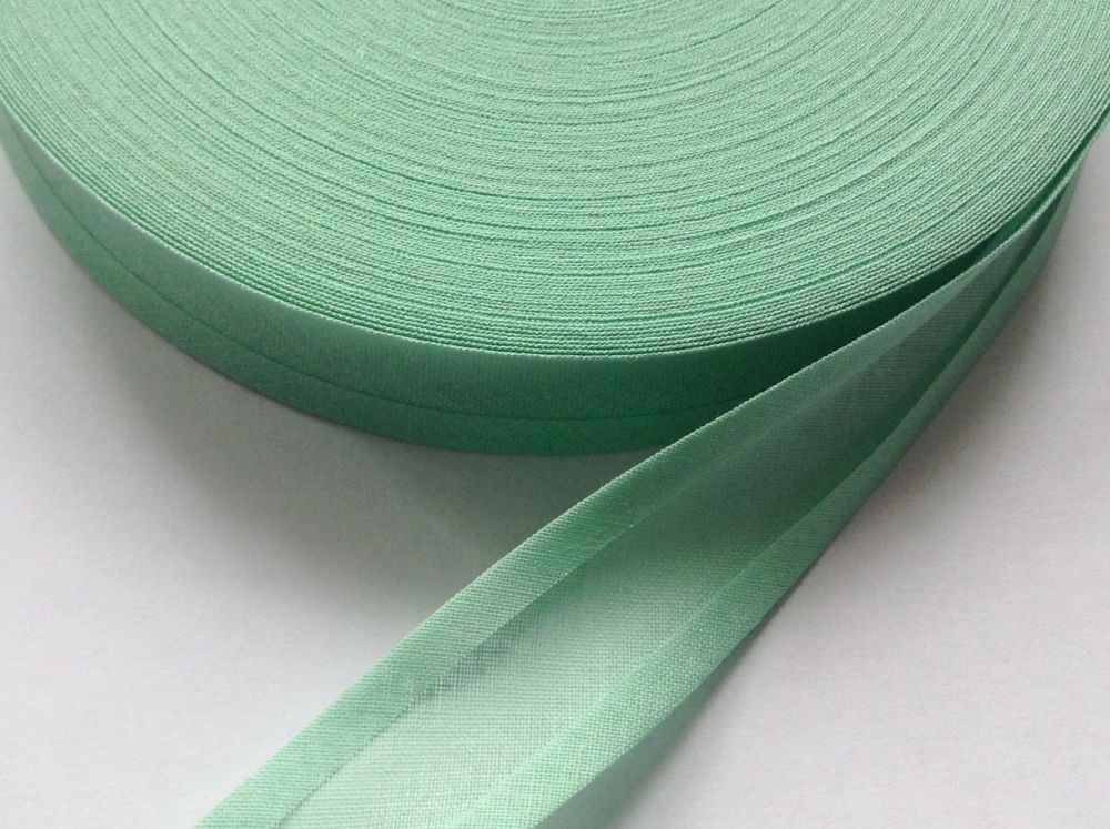 bunting and sewing tape - 50 metre reel - mint green