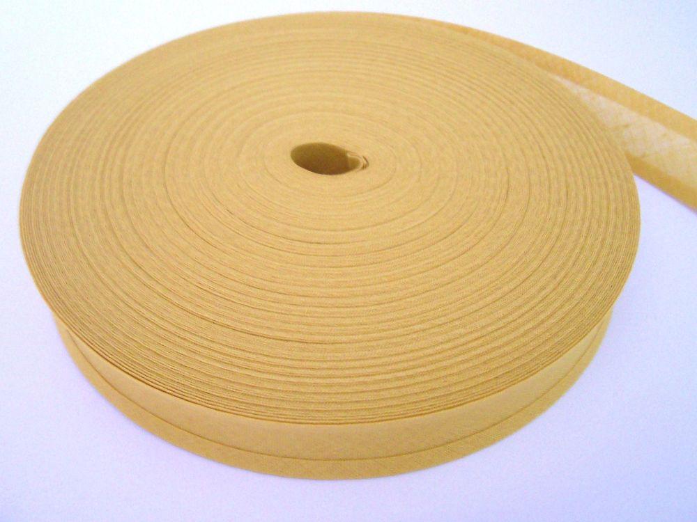 Butterscotch Bias Binding Tape 50 Metres