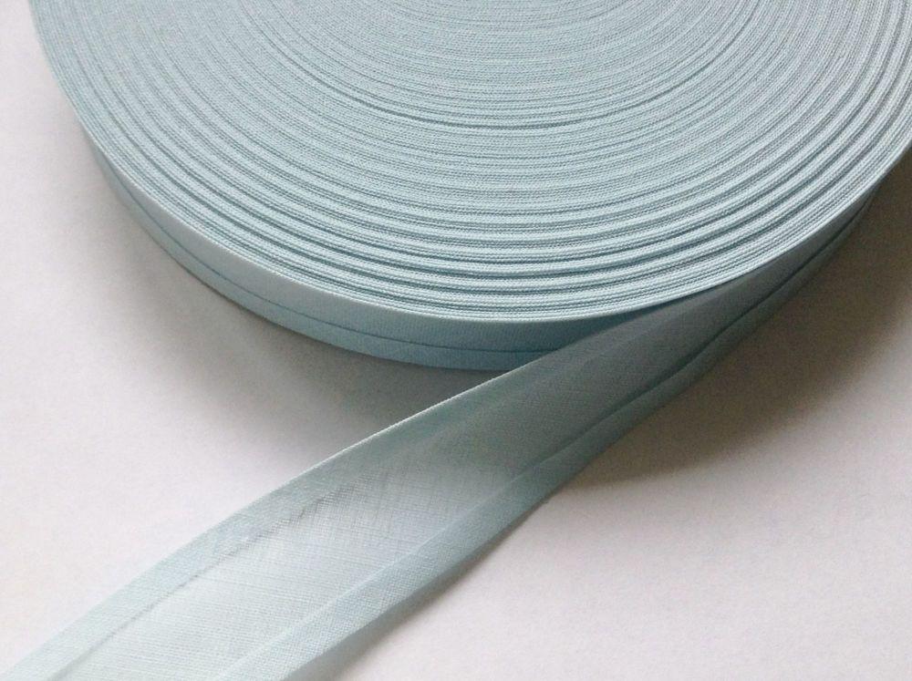 Light Blue Bias Binding - 50 Metres