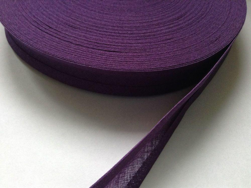Purple Bias Binding 50 Metre Reel