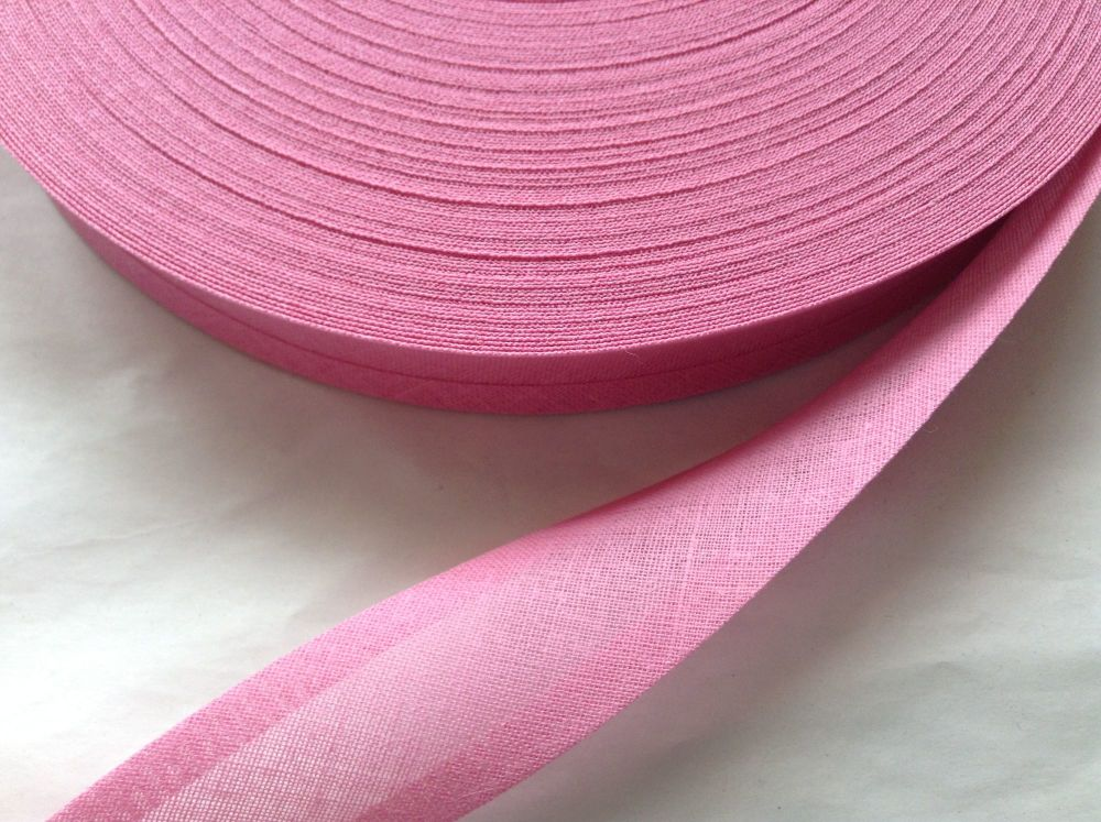 Pink Bunting Tape 100% Cotton - Cerise