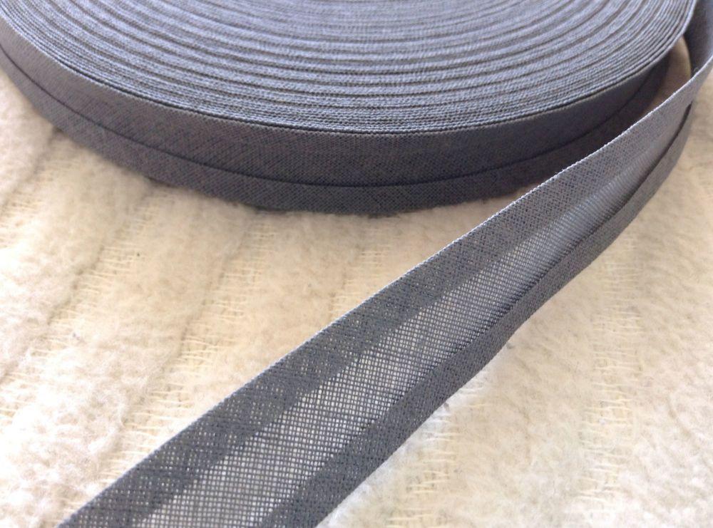 15mm Wide Grey Sewing Tape - 33 Metre Reel