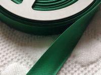 Satin Bias Binding 25 Metre Reel - Emerald Green