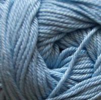 Wendy Supreme Cotton 4ply Knitting Crochet Yarn - Sky Blue