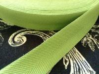 """3/4"""" Wide Apron Tape - Bright Green"""