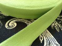 Bright Green Cotton Tape 3/4