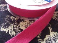 14mm Hot Pink Cotton Tape Apron Ties Half Metre Fuschia Pink