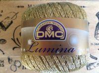 DMC Lumina Metallic Thread Gold L3821 Crochet Knitting Yarn 20g