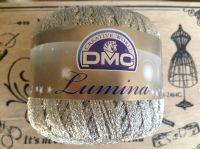 DMC Lumina Metallic Thread White Gold Crochet Knitting Yarn 20g L3866
