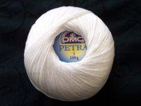 DMC Petra Crochet Cotton Number 3 Thread White B5200 100g