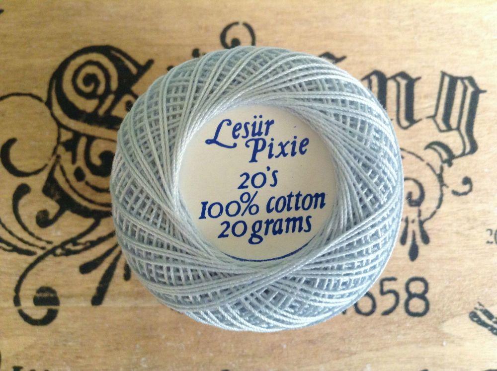 Light Blue 20s Crochet Cotton - Lesur Pixie