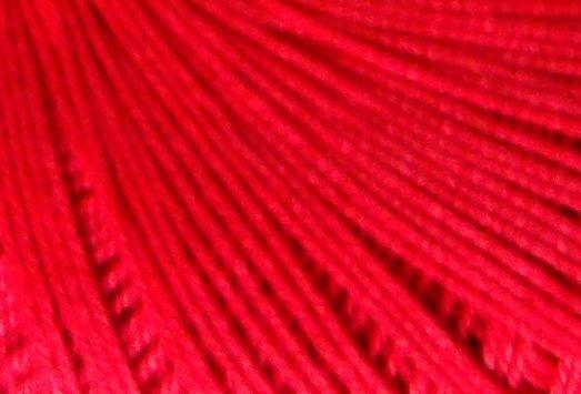 Red Crochet Cotton - 10s Tatting Lace Thread