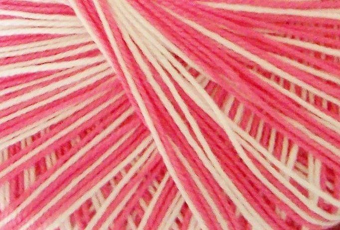 Crochet Thread - Pink Variegated 10s Crochetta