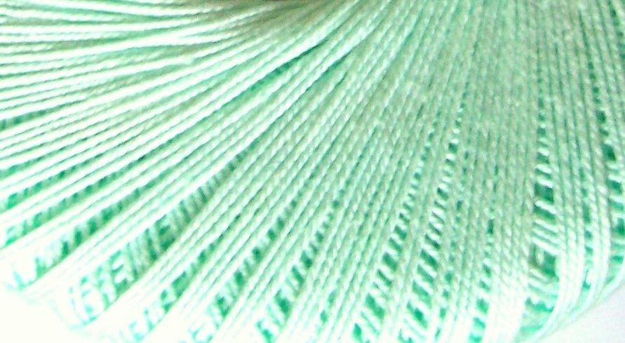 10s Crochet Thread - Mint Green Crochetta