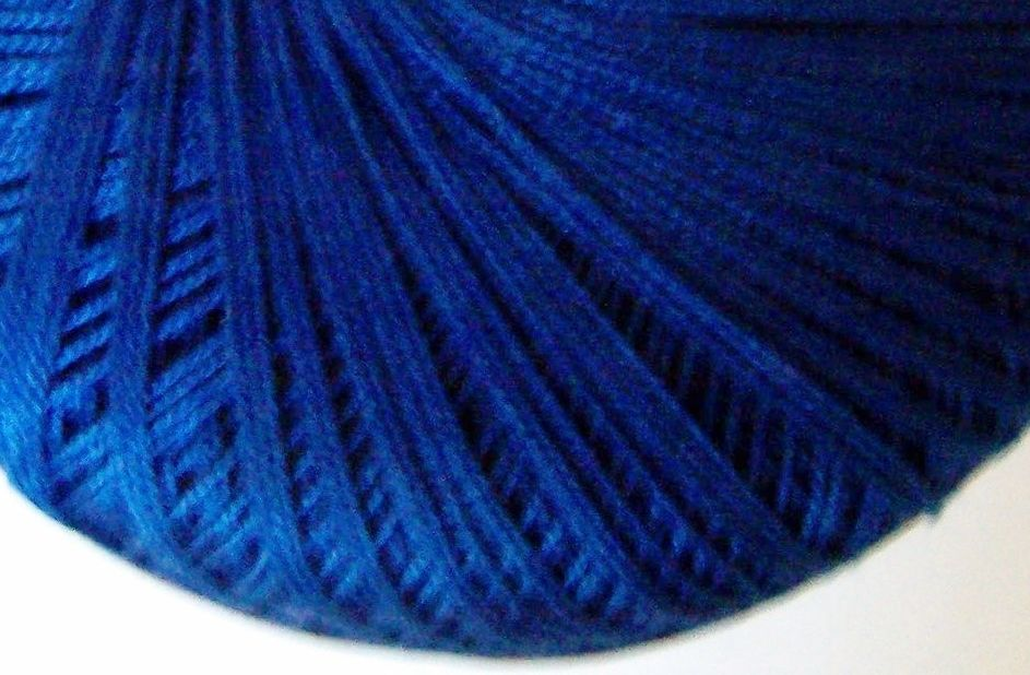 Royal Blue Crochet Cotton - Crochetta Tatting Thread