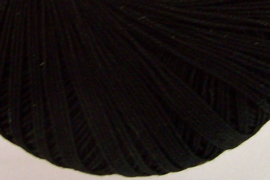 Black Crochet Cotton Crochetta 10s Tatting Lace Thread