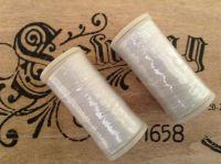 Sewing Thread Two Reels White 200 Metres per Reel