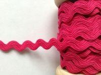 Trimming Braid Bright Pink Ric Rac Fuschia Zig Zag Pattern Ribbon