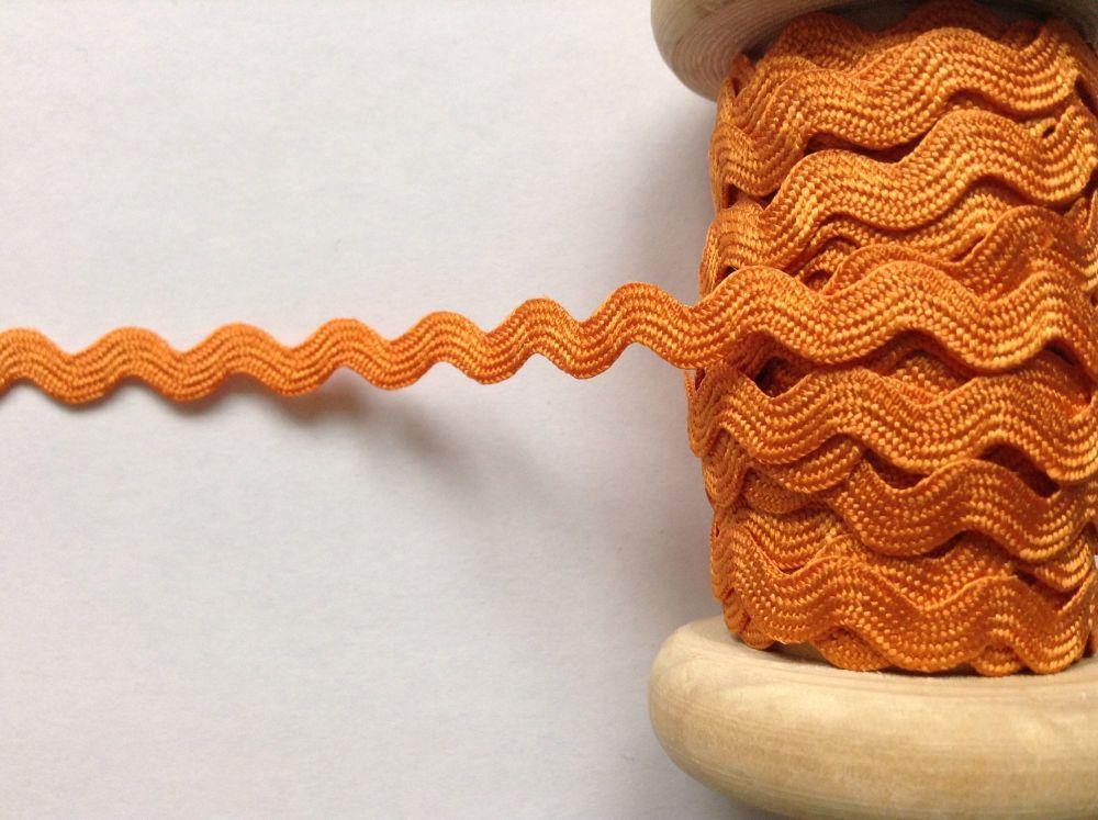 Orange Rick Rac Decorative Trimming Braid