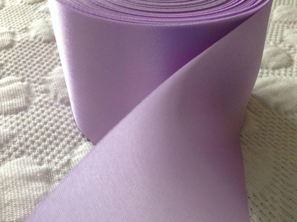 Lilac Ribbon - Satin Fabric Trim