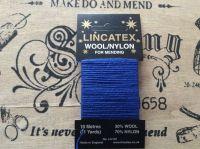 10 metres Lincatex sock darning wool royal blue