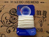 Sock Darning Wool 10 Metres Cream/Off White