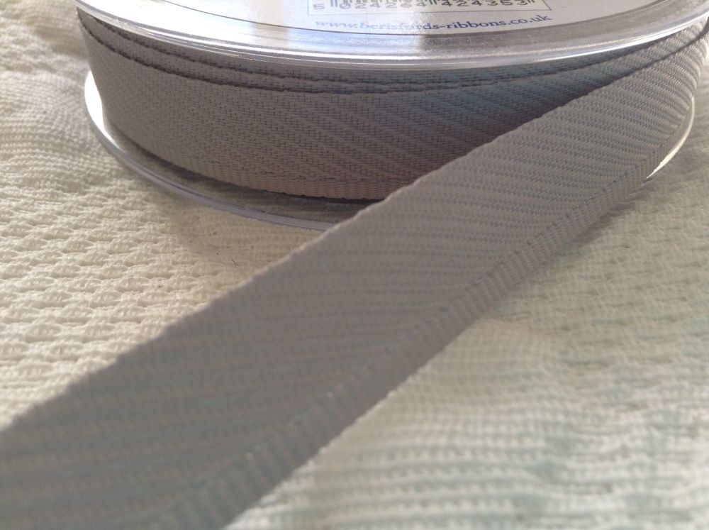 Light Grey Kick Tape Protective Fabric Hemming For Trousers Skirts