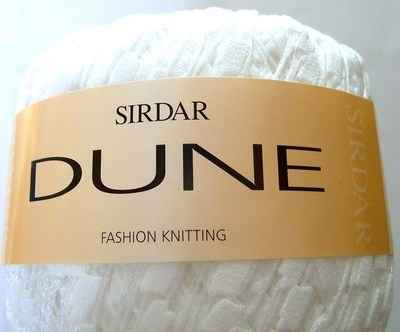 50g Sirdar Dune Wool: GLACIER